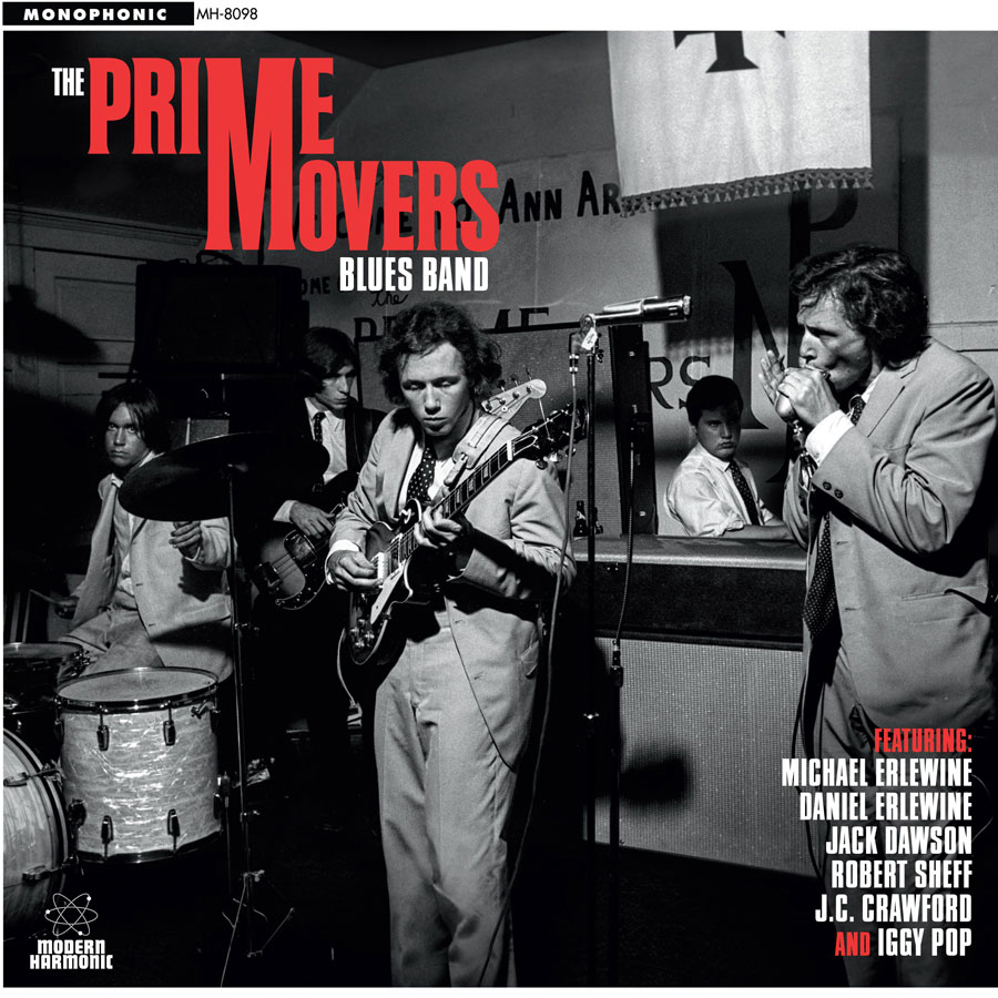The Prime Movers Blues Band - album cover