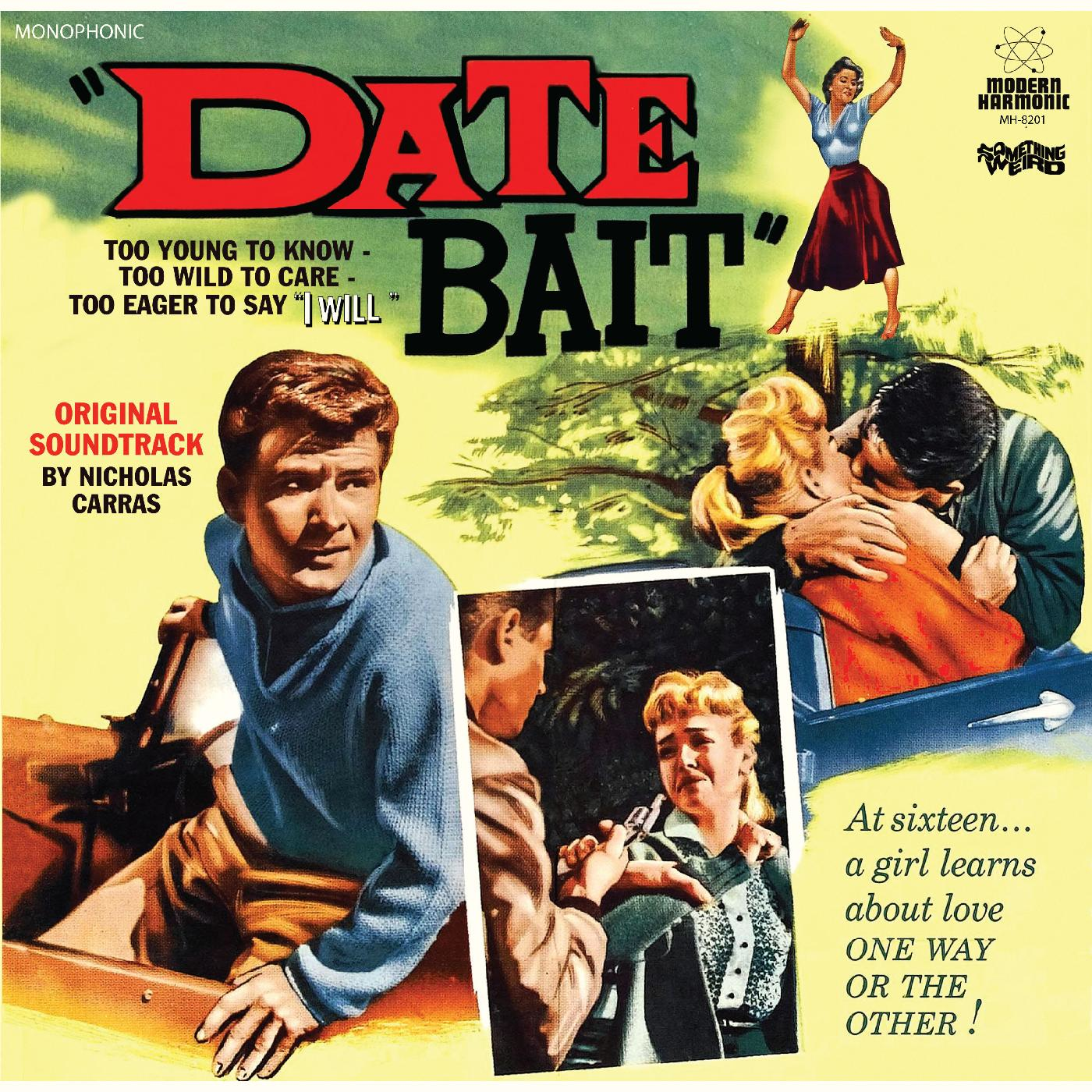 Carras, Nicholas - Date Bait - Original Motion Picture Soundtrack -  LP + DVD - MH-8201