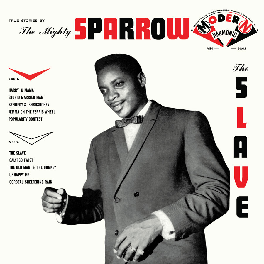 Mighty Sparrow, The - The Slave - LP - MH-8202