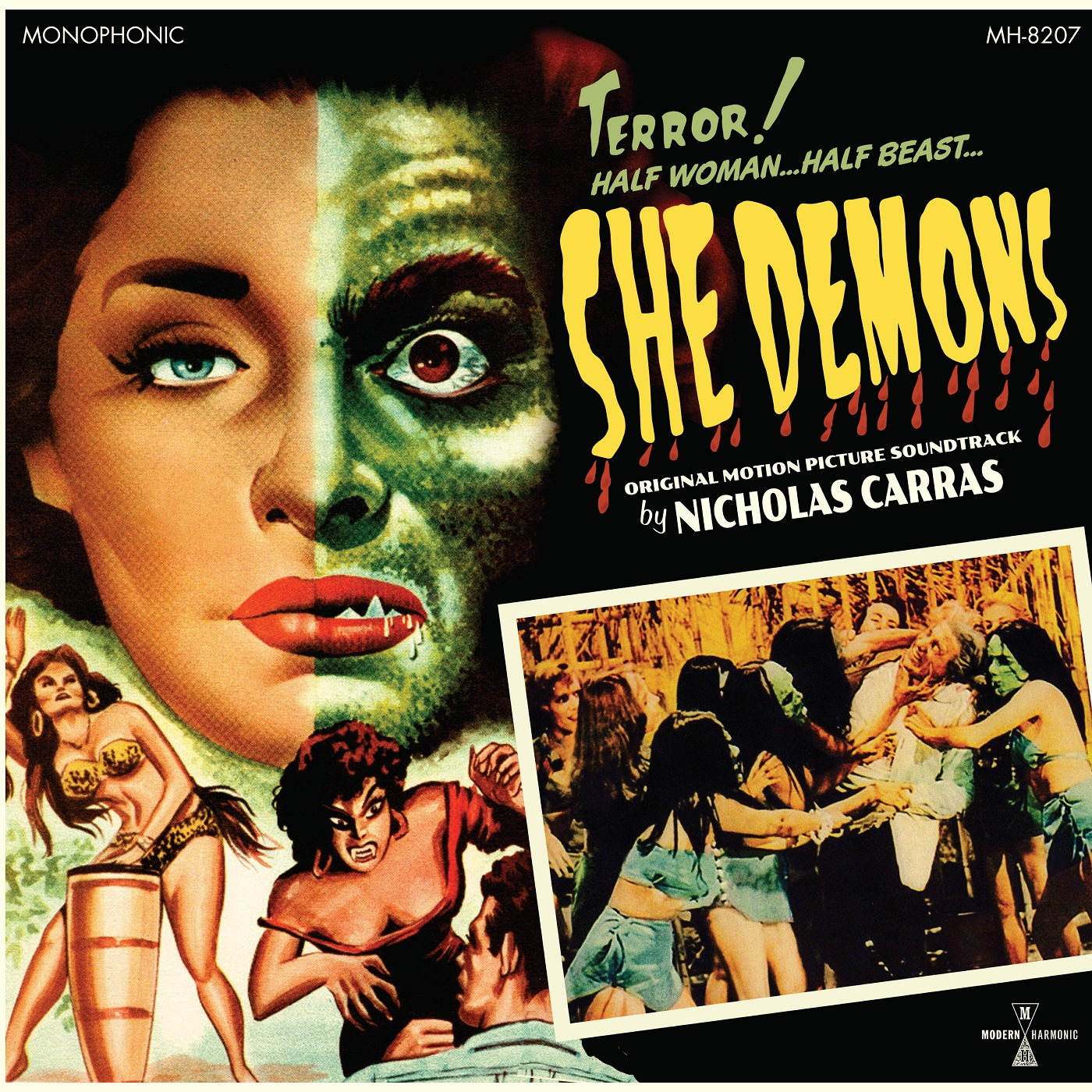 Nicholas Carras - She Demons - Product Shot