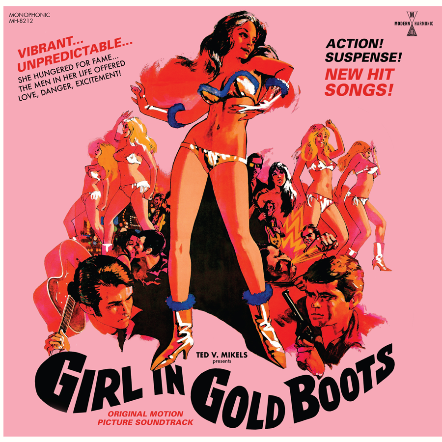 Girl In Gold Boots - Original Motion Picture Soundtrack - LP + DVD - LP-MH-8212