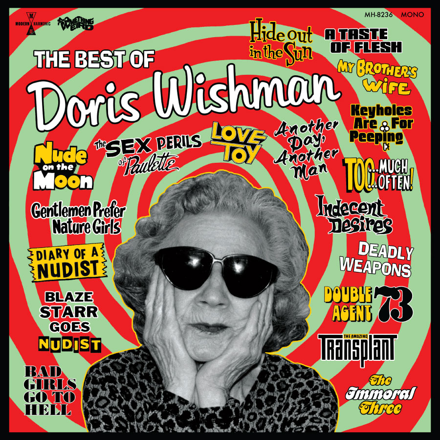Something Weird - The Best Of Doris Wishman - Vinyl LP + DVD - LP-MH-8236