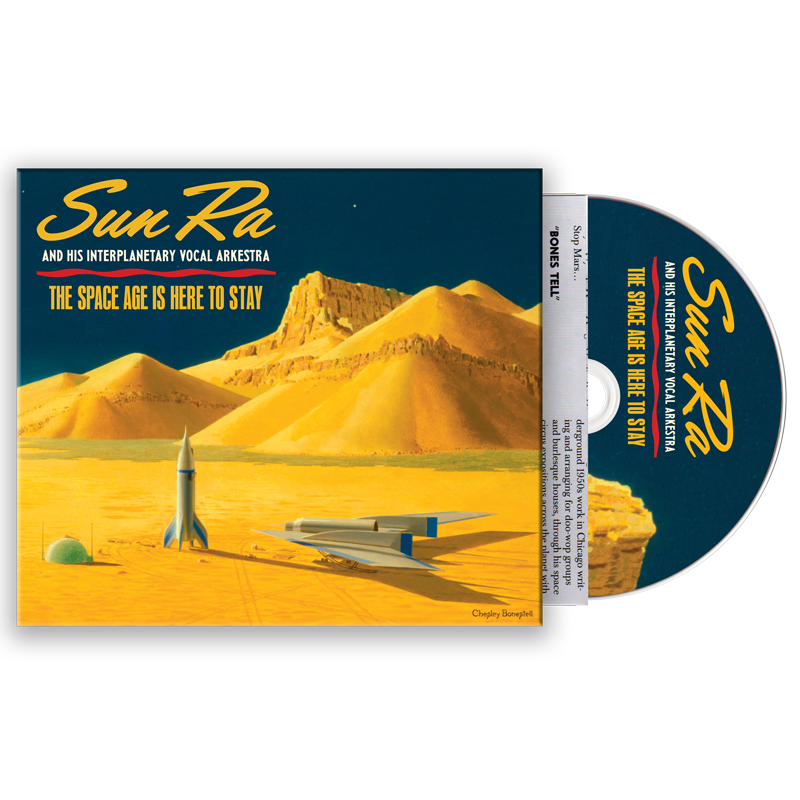 Sun Ra - The Space Age Is Here To Stay - CD - MHCD-011