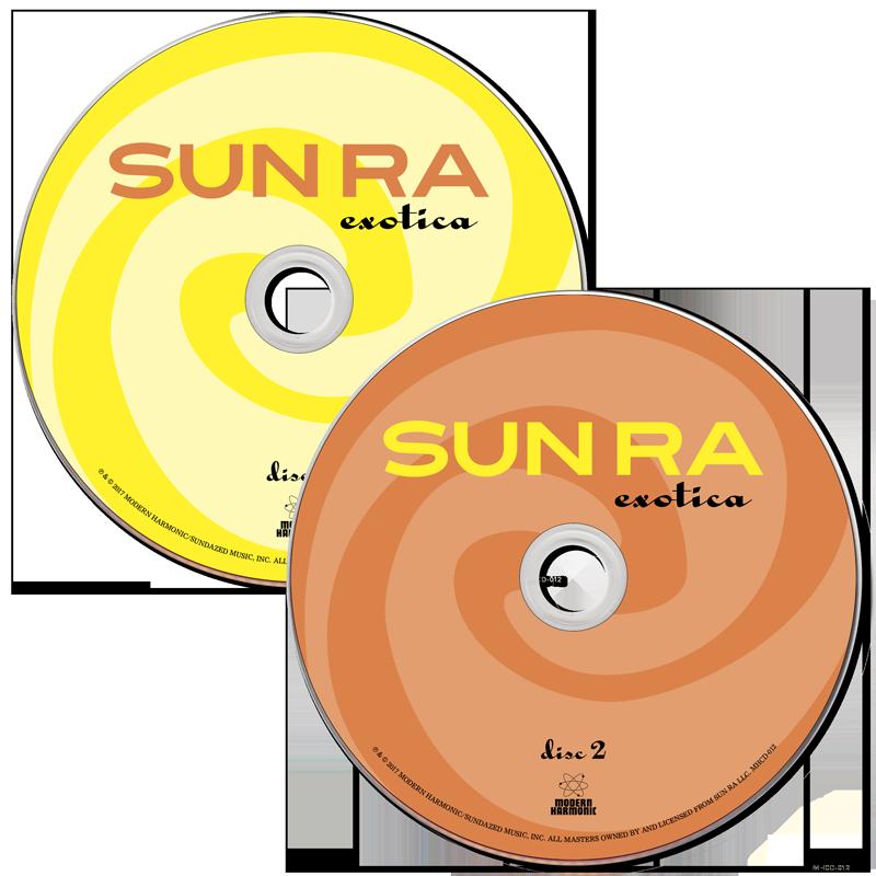 Sun Ra - Exotica - 2-CD Set - MHCD-012