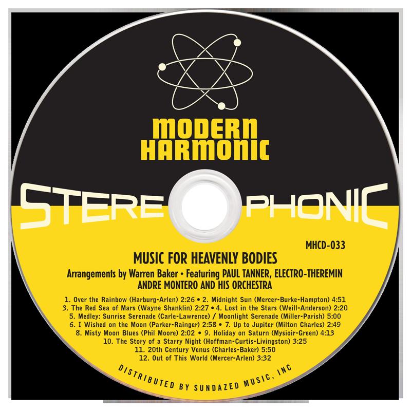 Tanner, Paul - Music For Heavenly Bodies - CD