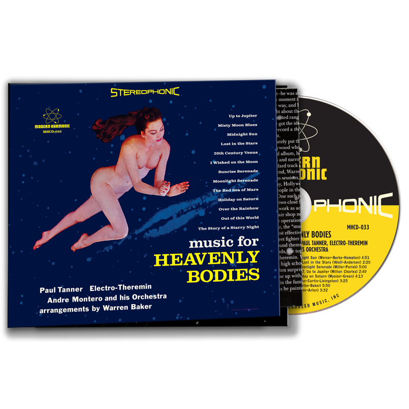 Tanner, Paul - Music For Heavenly Bodies - CD
