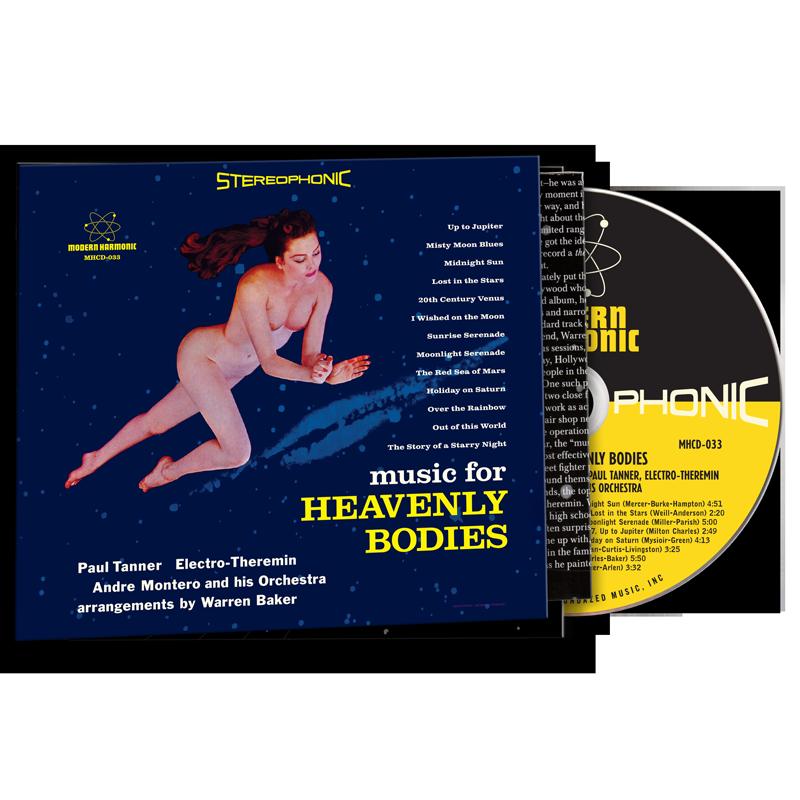 Tanner, Paul - Music For Heavenly Bodies - CD - MHCD-033