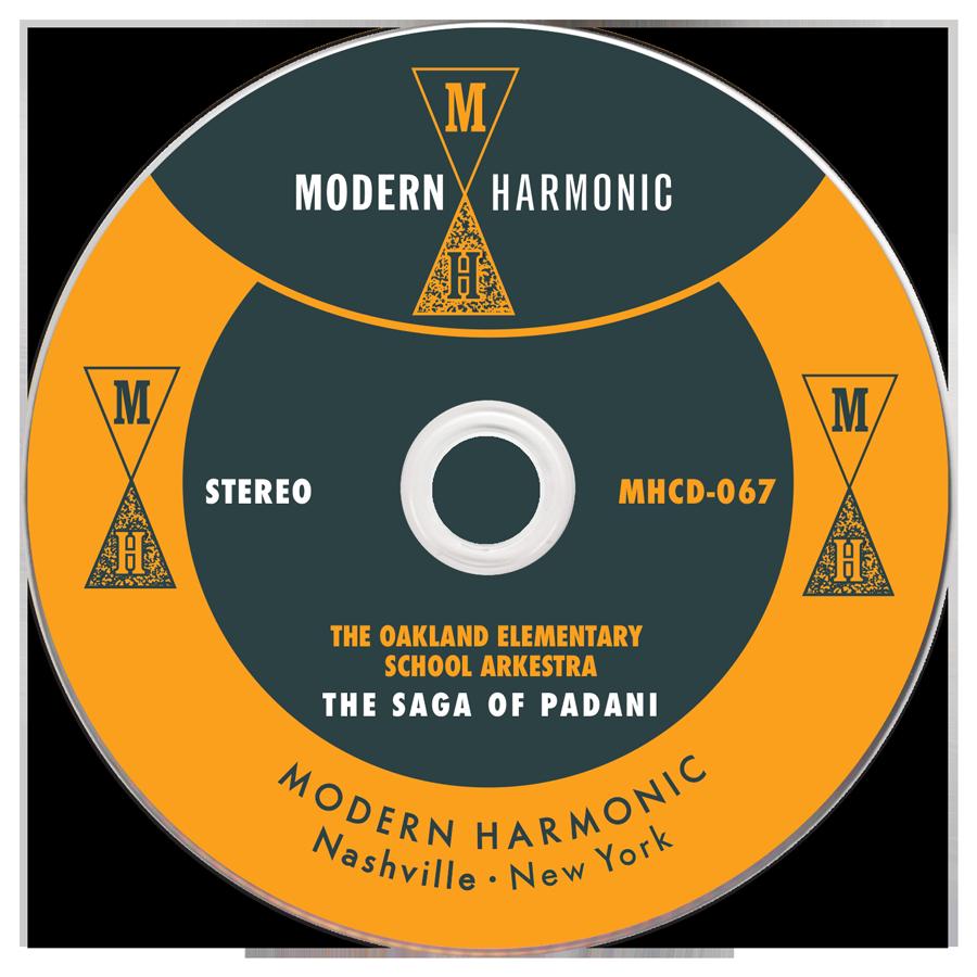 Oakland Elementary School Arkestra - The Saga Of Padani - CD