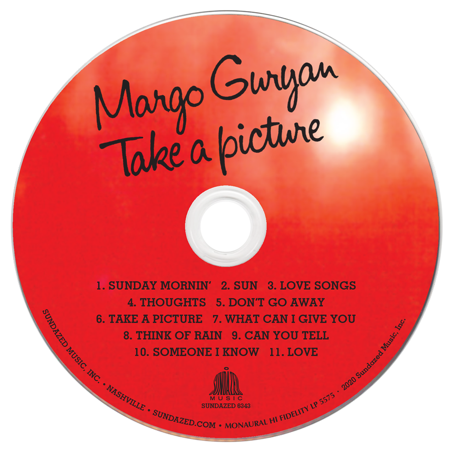 Guryan, Margo - Take A Picture MONO - CD - CD-SUND-6343