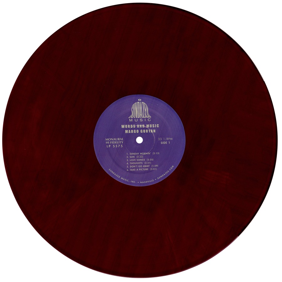Guryan, Margo - Take A Picture MONO - Transition Color LP - MLP-SUND-5575