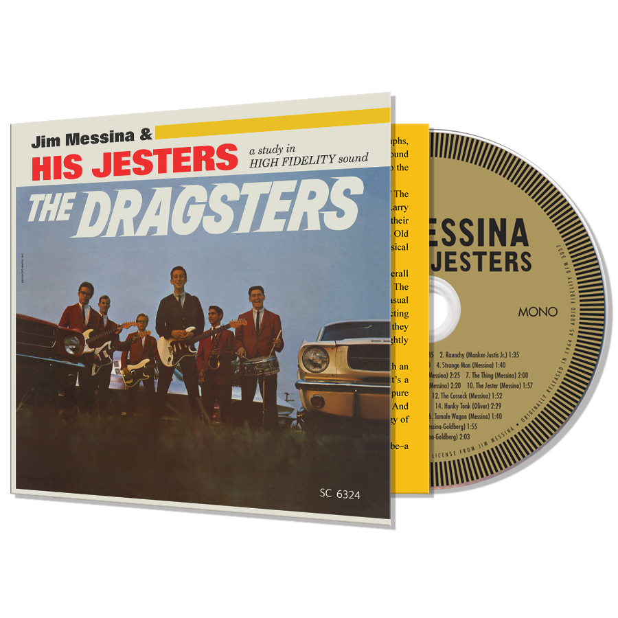Jim Messina & His Jesters - The Dragsters - CD - CD-SUND-6324
