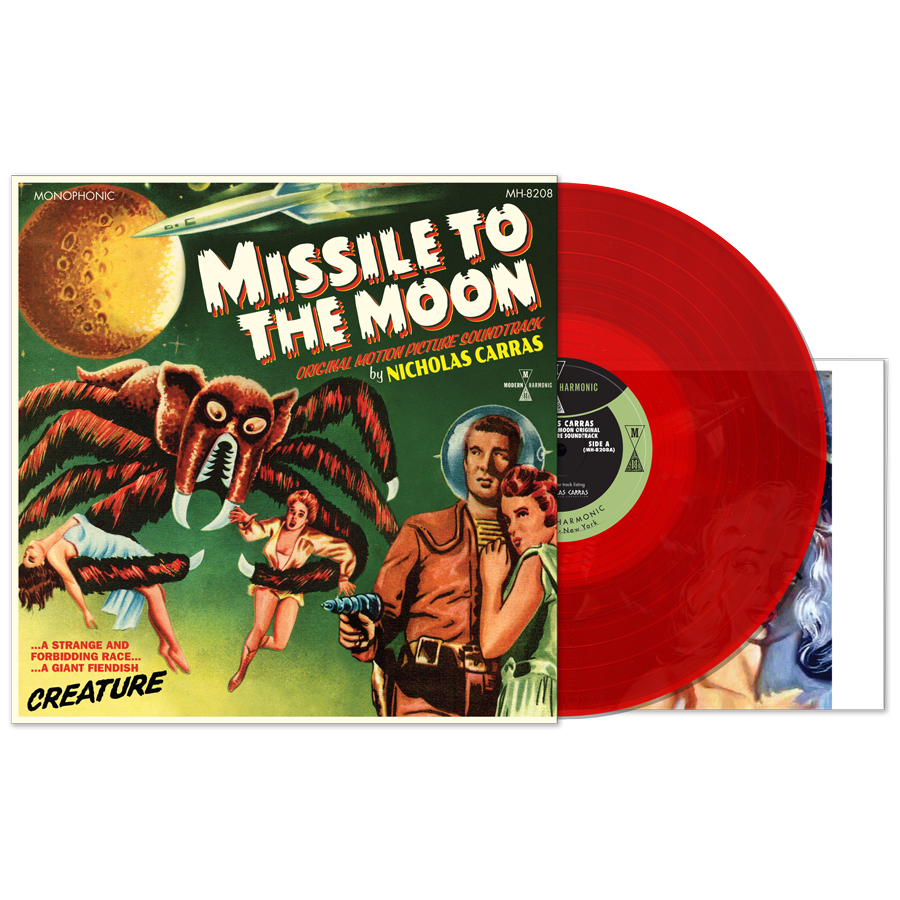 Nicholas Carras - Missile To The Moon - Product Shot