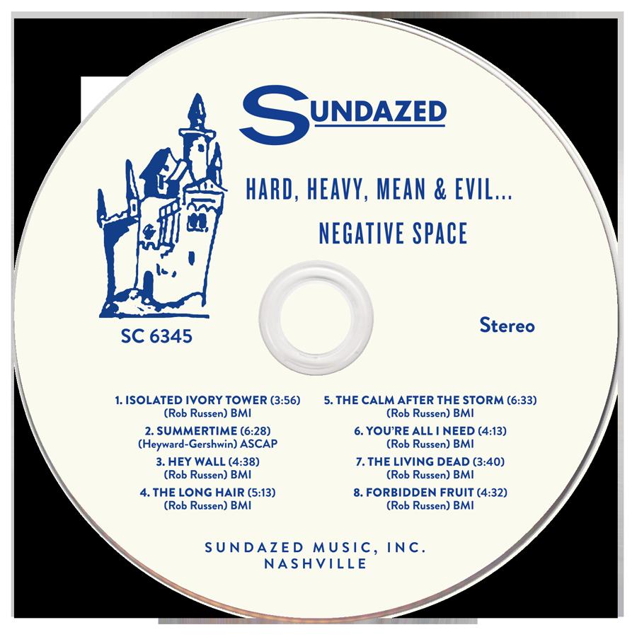 Negative Space - Hard, Heavy, Mean & Evil - CD - CD-SUND-6345