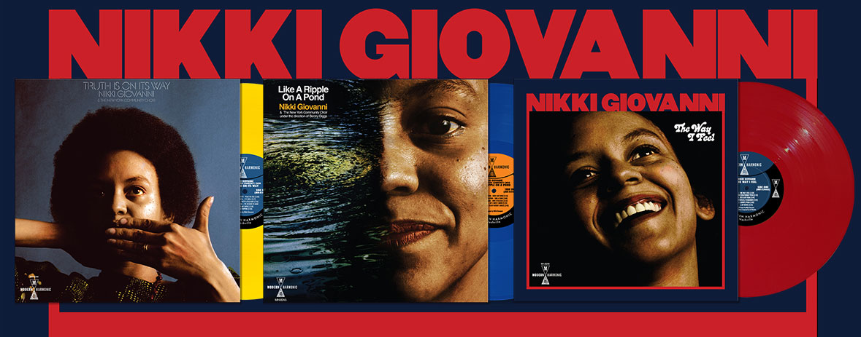 Nikki Giovanni Reissues