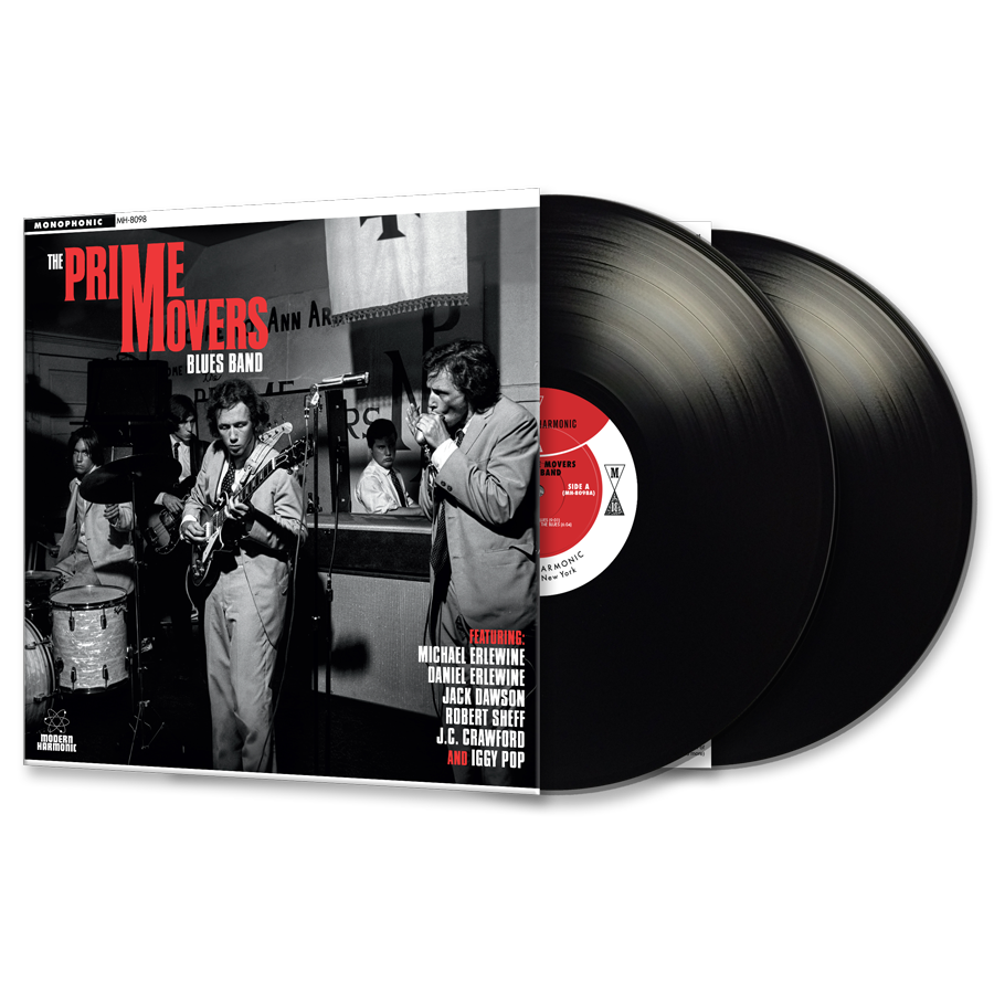 Prime Movers Blues Band - LP Product Shot
