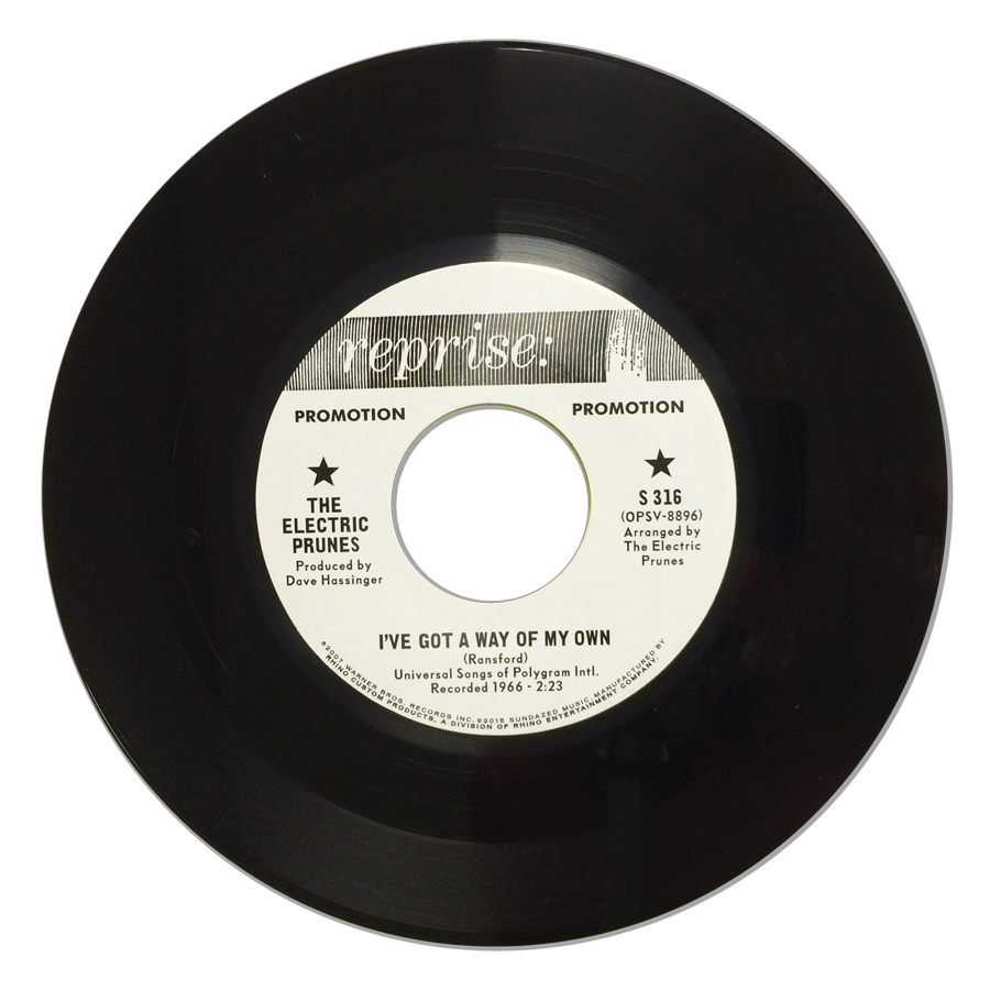 "Electric Prunes, The - I've Got A Way Of My Own / World Of Darkness - Limited Edition 7"" single - S 316"