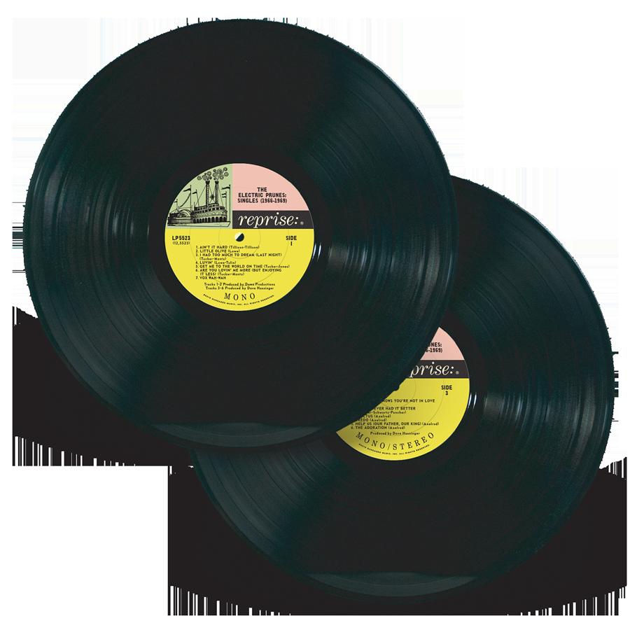 Electric Prunes, The - Singles 1966-1969 - 2-LP Set - LP 5523