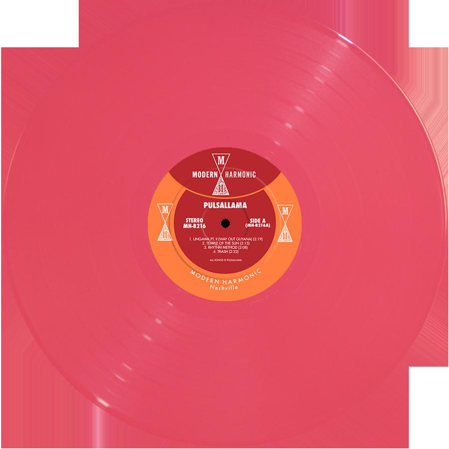 Pulsallama - Pulsallama - Pink Vinyl LP - LP-MH-8216