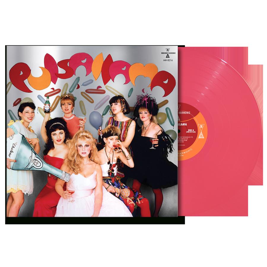 Pulsallama - Pulsallama - Pink Vinyl LP