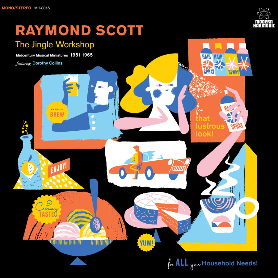 Raymond Scott album cover