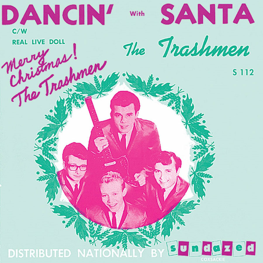 "Trashmen, The - Dancin with Santa / Real Live Doll 7"" Single"