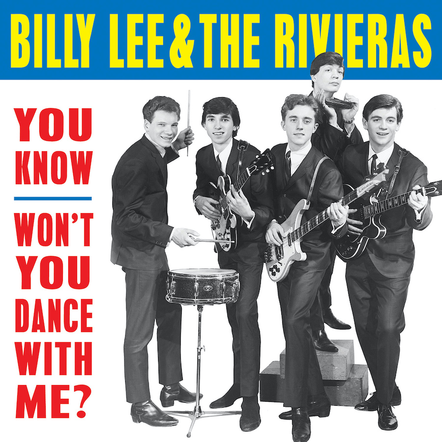 Billy Lee & the Rivieras - You Know / Wont You Dance with Me? 7""