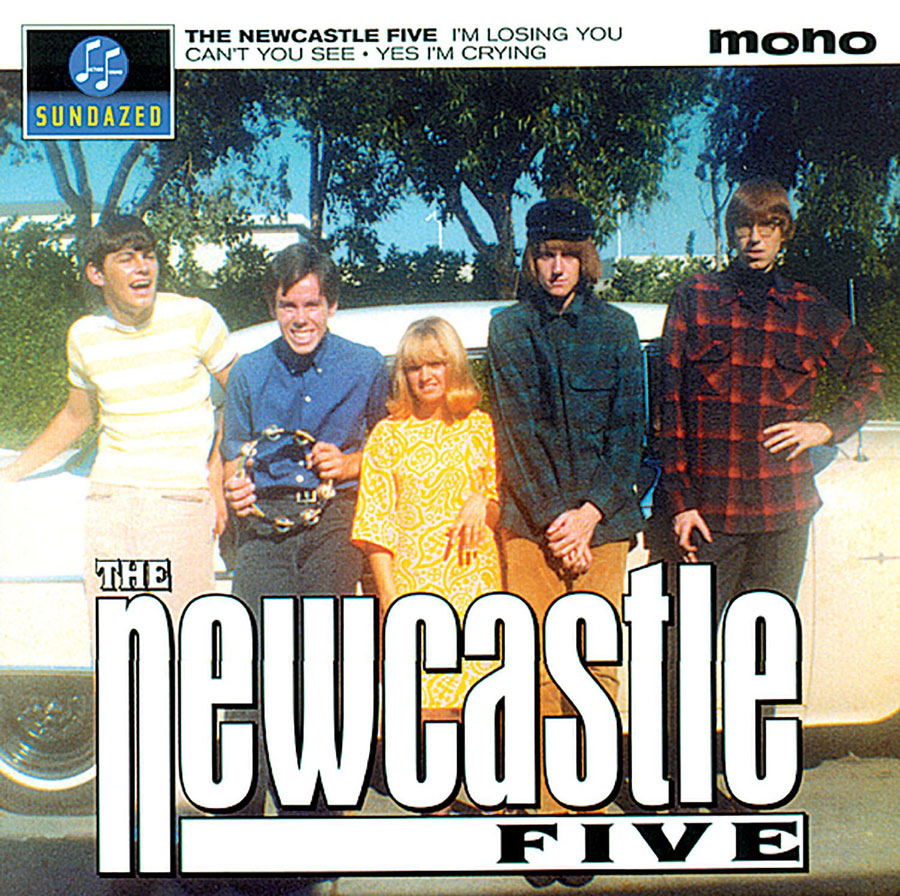"Newcastle Five, The - I'm Losing You / Can't You See / Yes I'm Crying 7"" EP"
