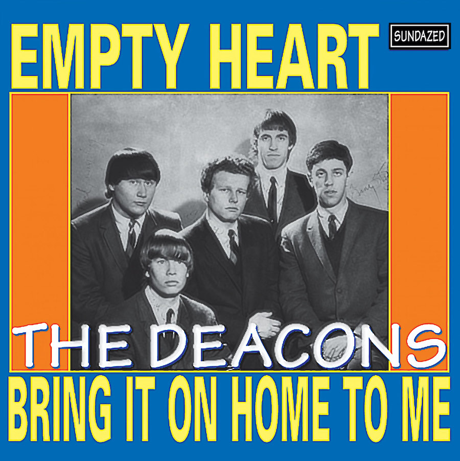 "Deacons, The - Empty Heart / Bring It On Home To Me 7"" Single"