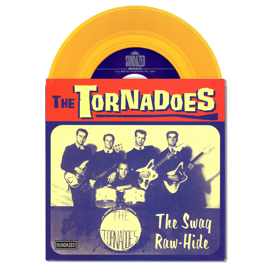 "Tornadoes, The - The Swag / Raw-Hide 7"" Single"
