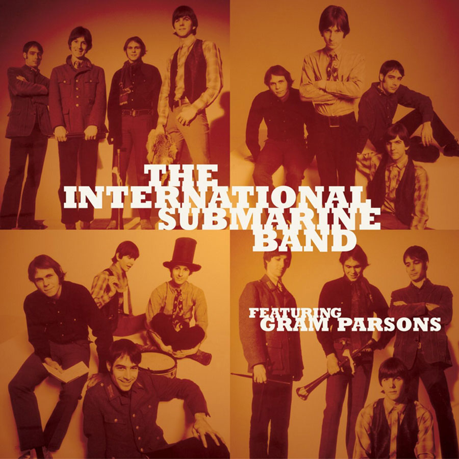 "International Submarine Band (featuring Gram Parsons), The - Sum Up Broke / One Day Week 7"" Single - Colored Vinyl"