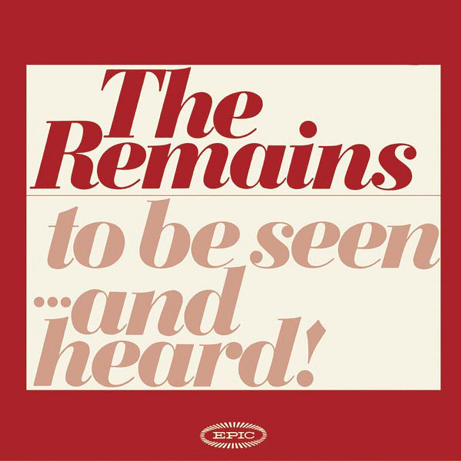 "Remains, The - Diddy Wah Diddy / Once Before 7"" Single"