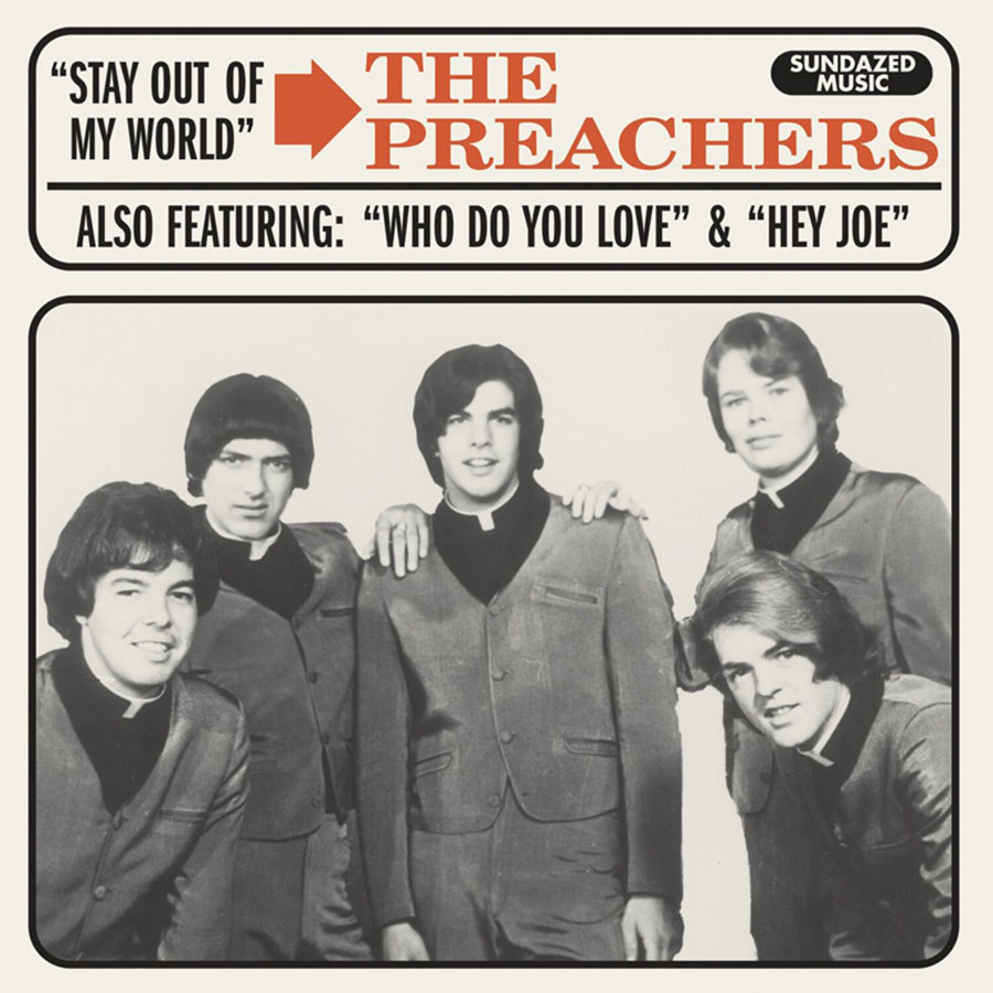"Preachers, The - Who Do You Love / Stay Out of My World / Hey Joe 7"" EP"