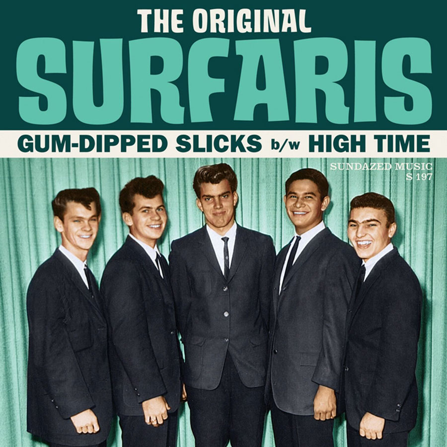 "Original Surfaris, The - Gum-Dipped Slicks / High Time 7"" Single"