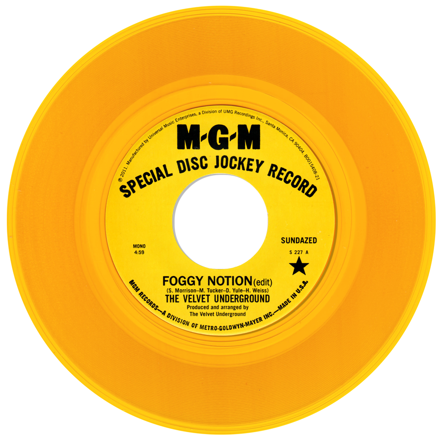 Velvet Underground, The - Foggy Notion / I Can't Stand It - S-227