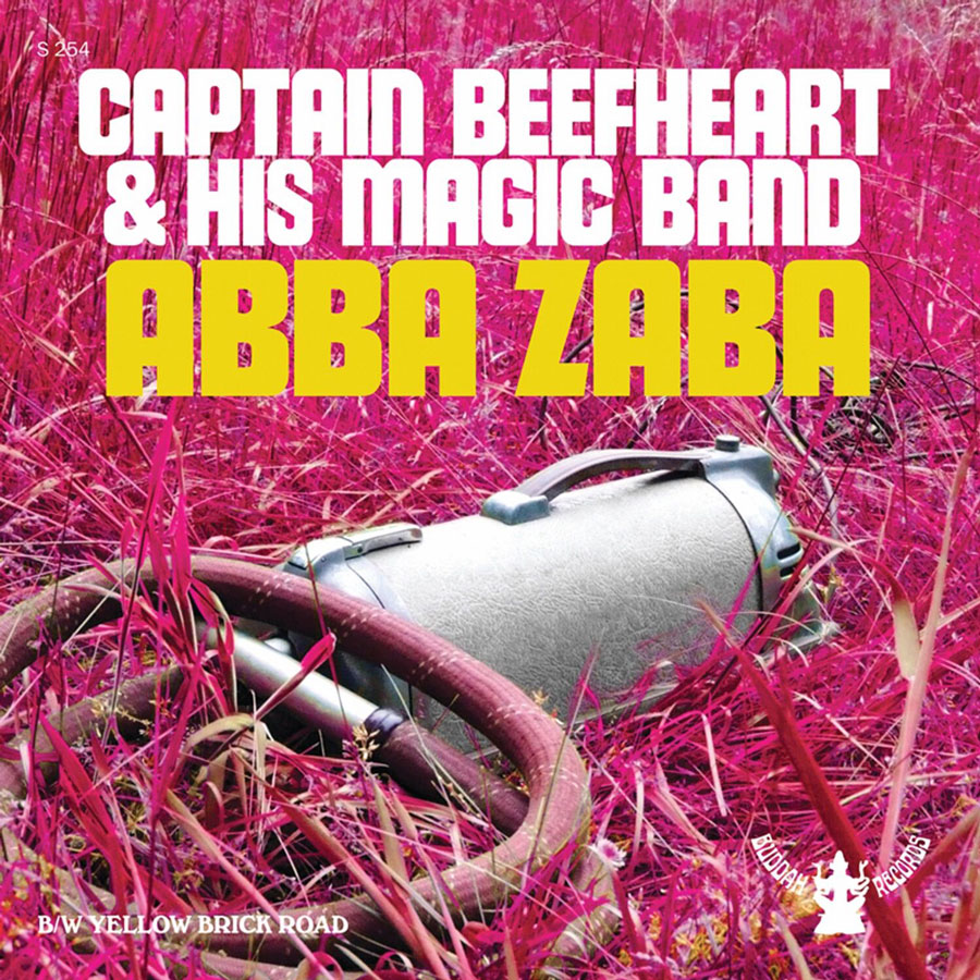 "Captain Beefheart and His Magic Band - Abba Zaba / Yellow Brick Road 7"" single - Colored Vinyl"
