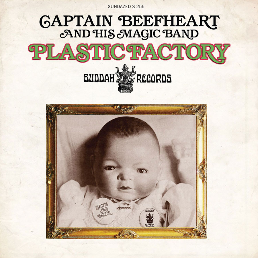 "Captain Beefheart and His Magic Band - Plastic Factory / Where Theres Woman 7"" Single - Colored Vinyl"