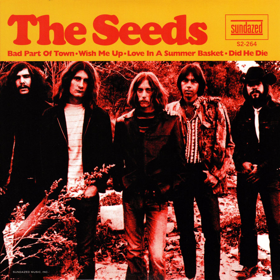 "Seeds, The - Bad Part of Town / Wish Me Up / Love In a Summer Basket / Did He Die - Double 7"" Set"
