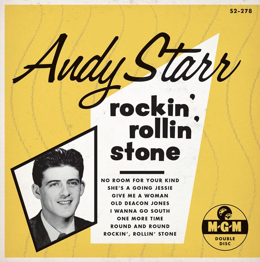 Starr, Andy - Rockin' Rollin' Stone