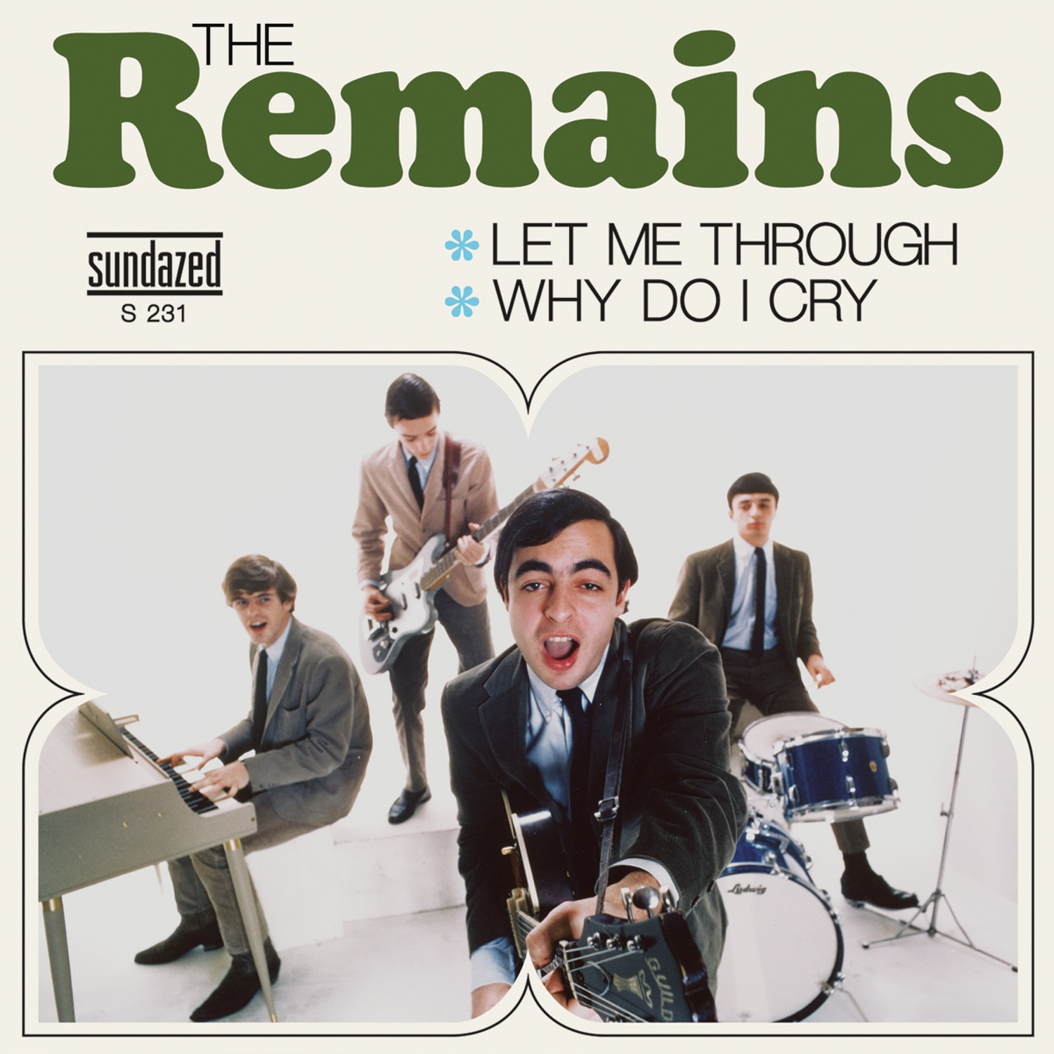 "Remains, The - Let Me Through (live) / Why Do I Cry 7"" Single"