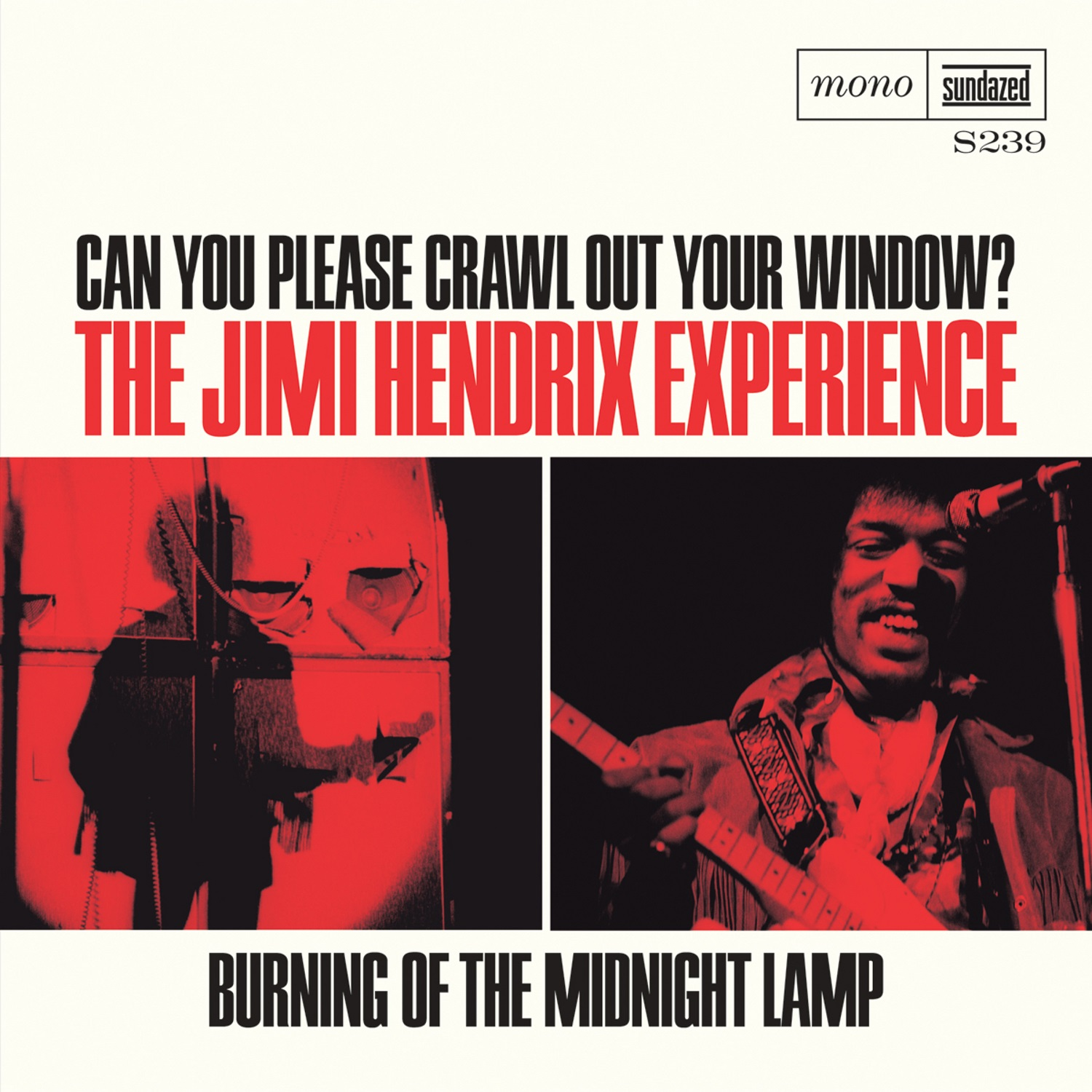 """Hendrix, Jimi - Can You Please Crawl Out Your Window? / Burning of the Midnight Lamp 7"""" Single - S 239"""