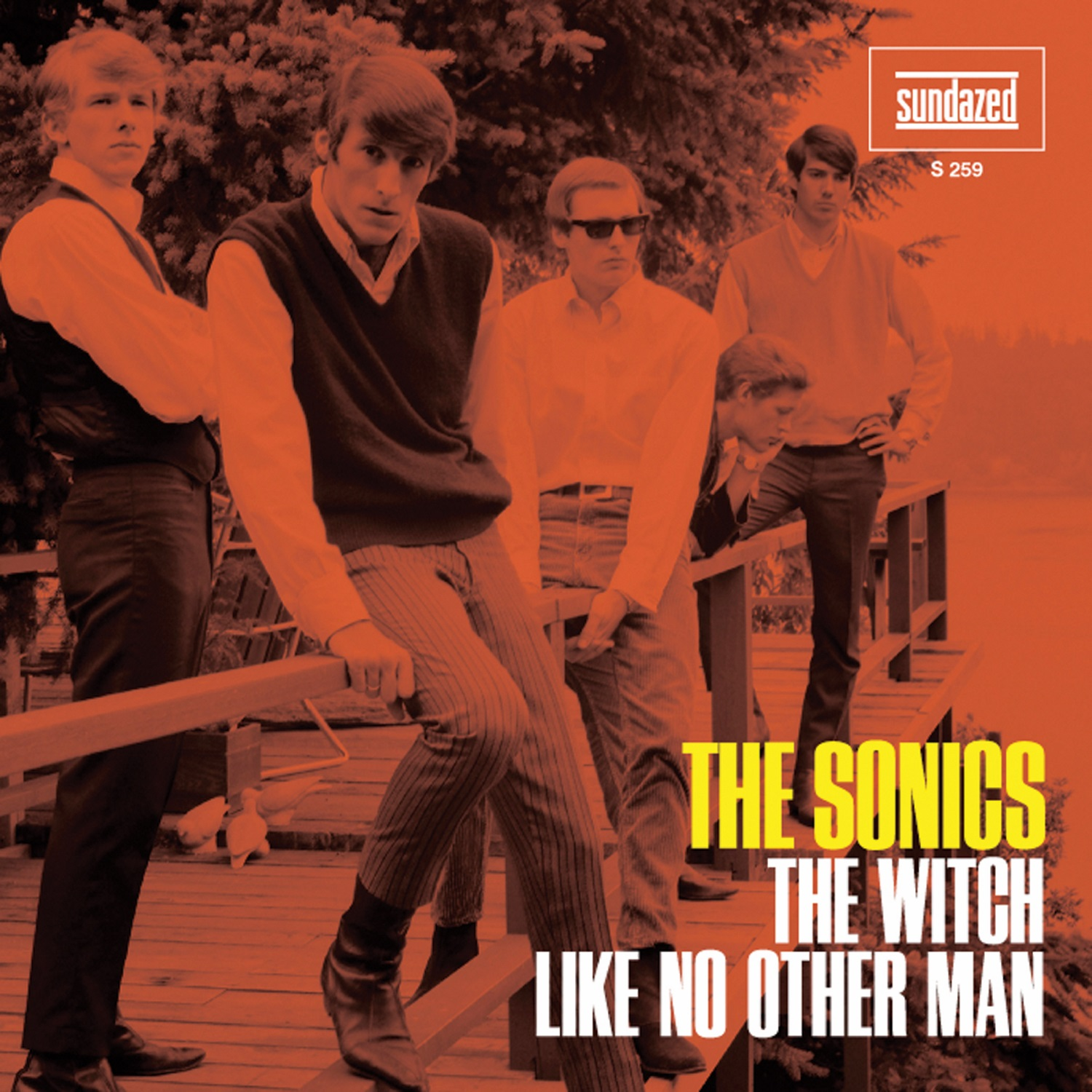 "Sonics, The - The Witch / Like No Other Man 7"" Single"