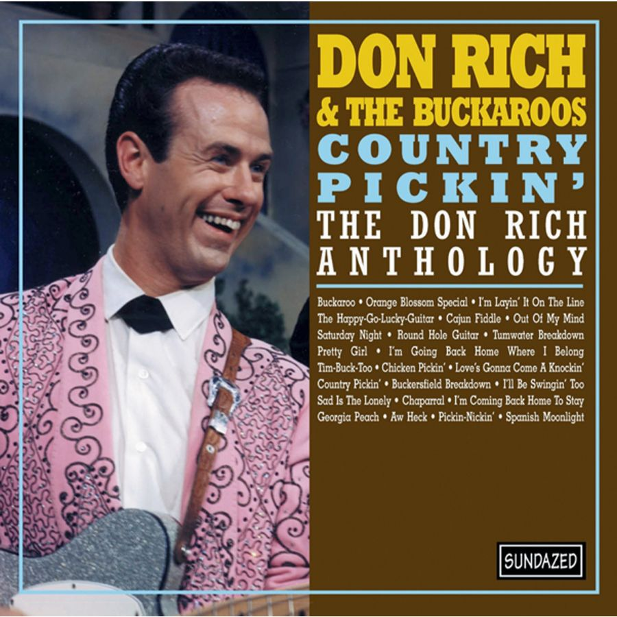 Don Rich and the Buckaroos - Country Pickin: The Don Rich Anthology CD