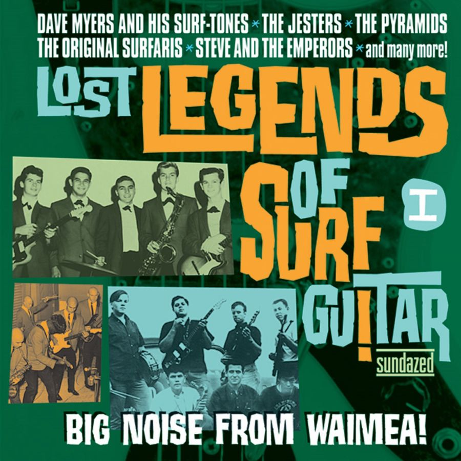 Various Artists - Lost Legends of Surf Guitar - Lost Legends Of Surf Guitar I: Big Noise From Waimea CD