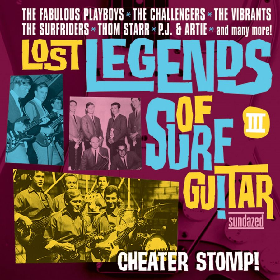 Various Artists - Lost Legends of Surf Guitar - Lost Legends Of Surf Guitar III: Cheater Stomp CD