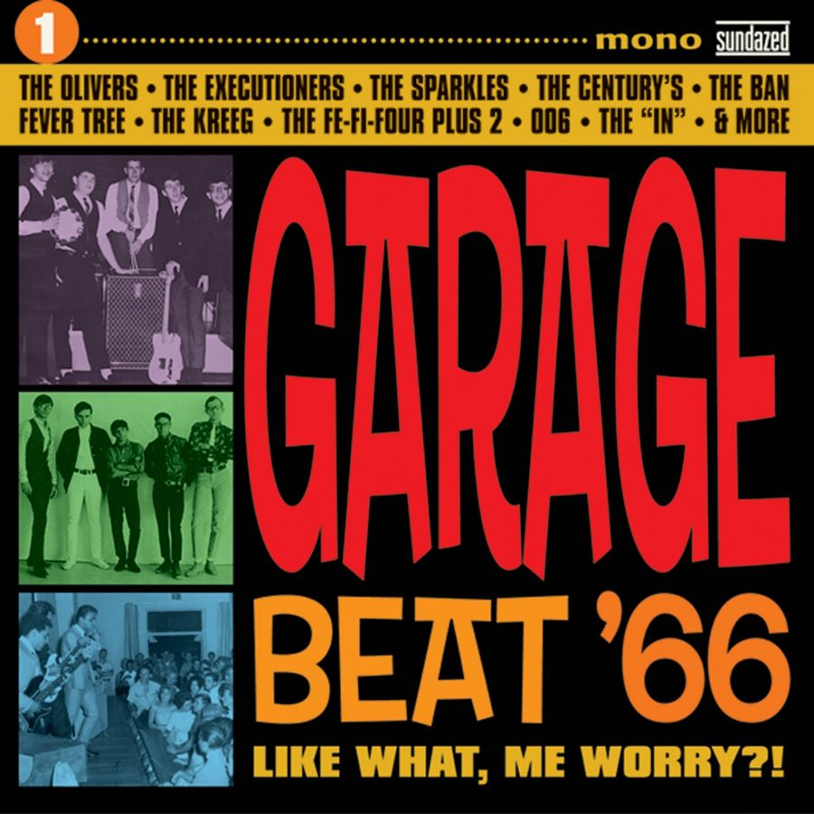 Various Artists - Garage Beat 66 - Garage Beat 66 Vol. 1: Like What, Me Worry CD