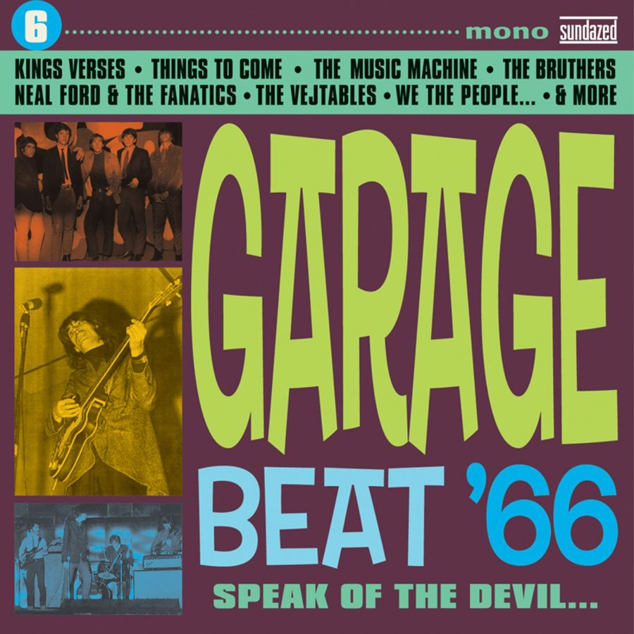 Various Artists - Garage Beat 66 - Garage Beat 66 Vol. 6: Speak of the Devil... CD