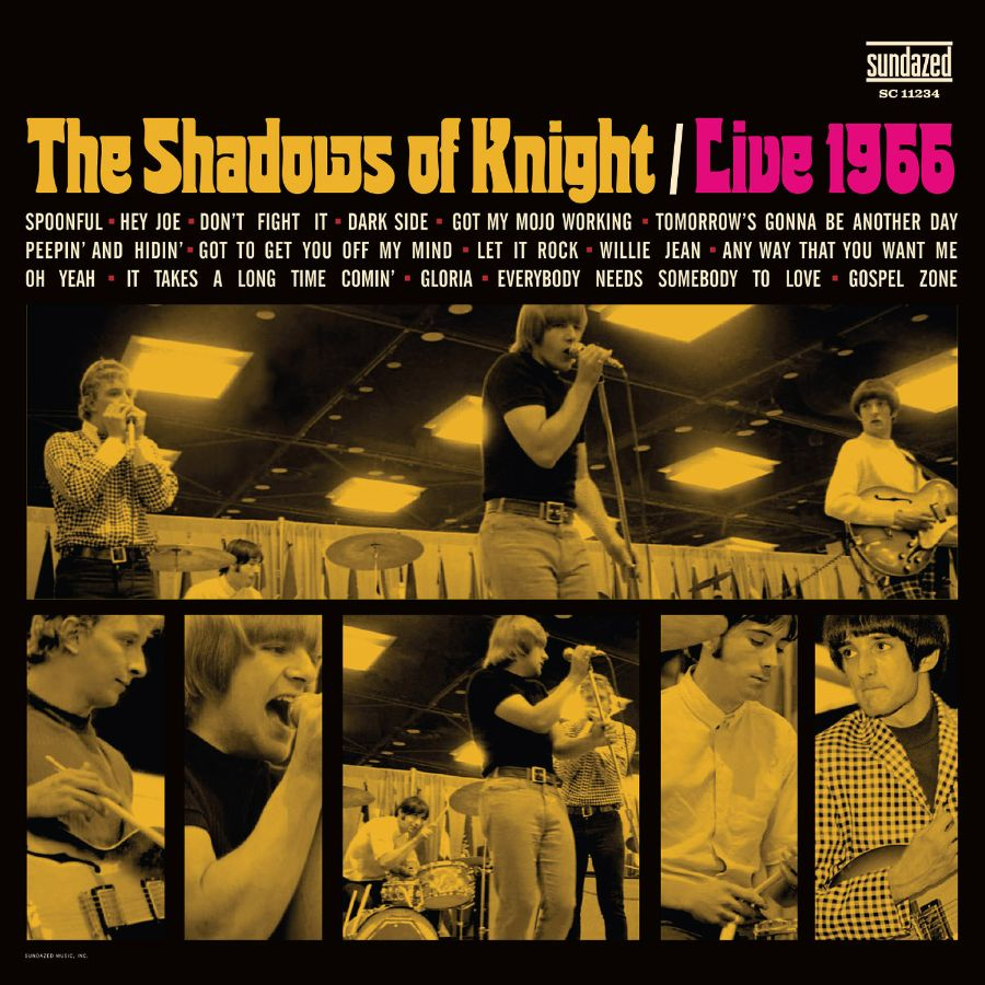 Shadows of Knight, The - LIVE 1966 - CD