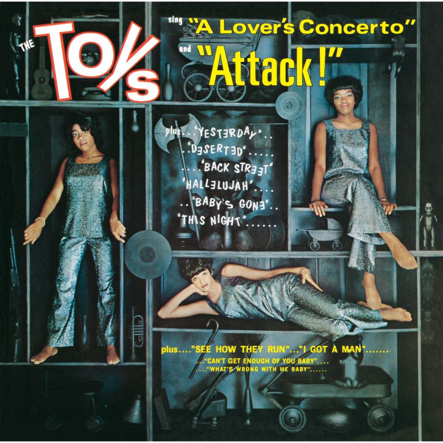 Toys, The - A Lovers Concerto/Attack! CD
