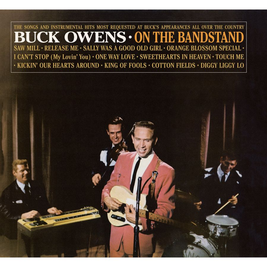 Owens, Buck and His Buckaroos - On The Bandstand CD