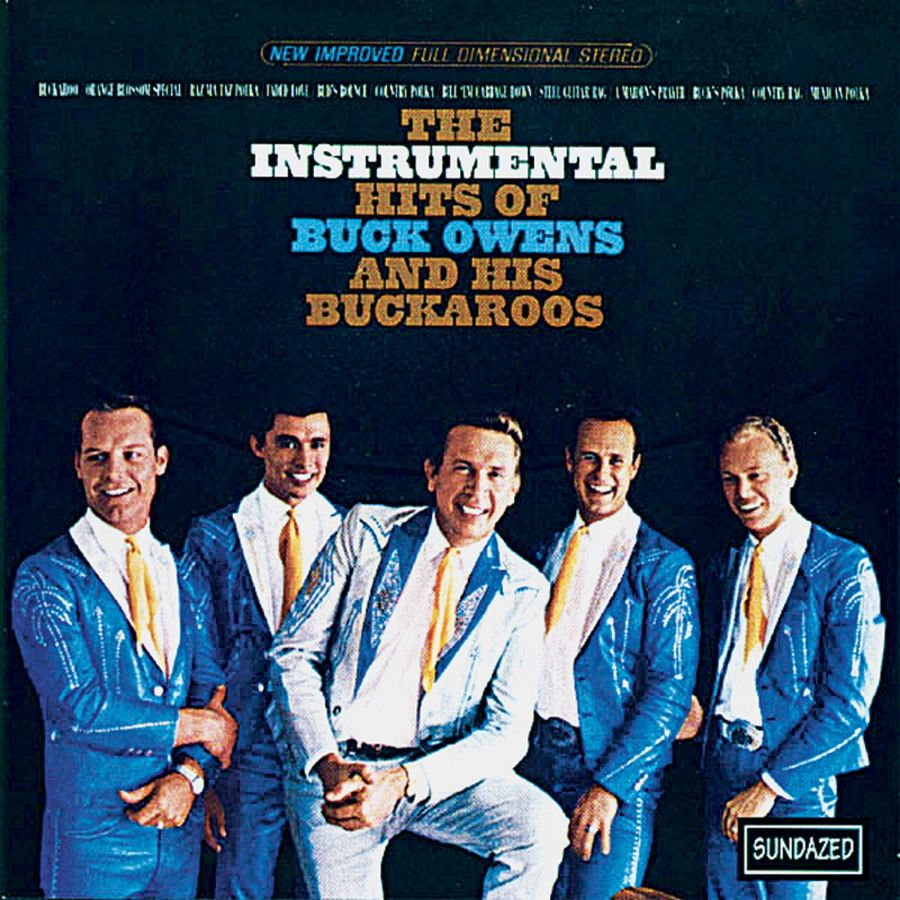 Owens, Buck and His Buckaroos - The Instrumental Hits Of Buck Owens & His Buckaroos CD